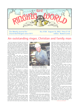 The Ringing World issue 4764