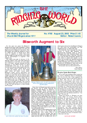 The Ringing World issue 4765