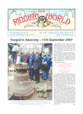 The Ringing World issue 4767