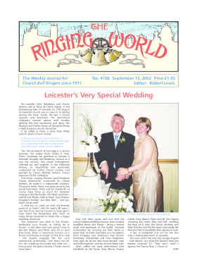 The Ringing World issue 4768
