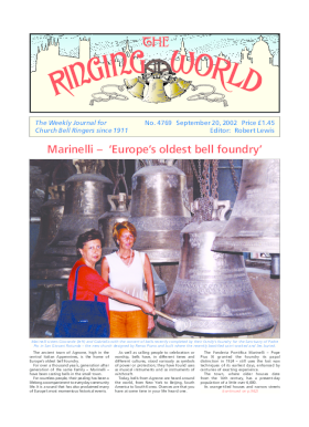 The Ringing World issue 4769