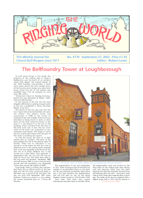 The Ringing World issue 4770