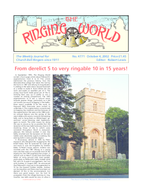 The Ringing World issue 4771