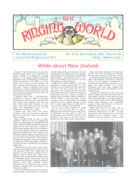 The Ringing World issue 4776