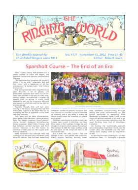 The Ringing World issue 4777