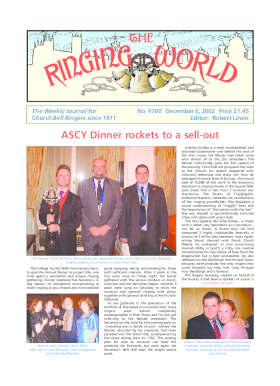 The Ringing World issue 4780