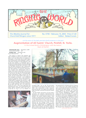The Ringing World issue 4790