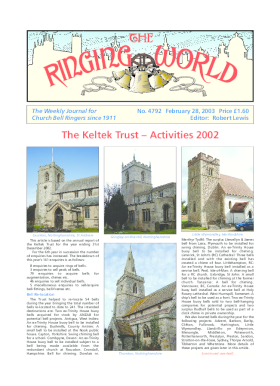 The Ringing World issue 4792