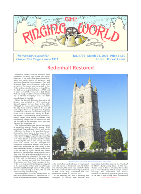 The Ringing World issue 4795
