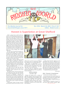 The Ringing World issue 4796