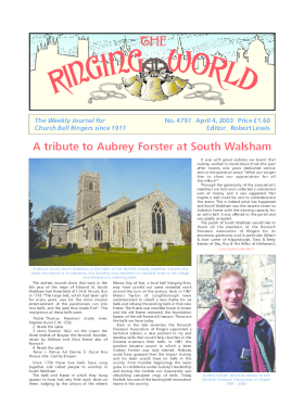 The Ringing World issue 4797