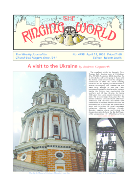 The Ringing World issue 4798