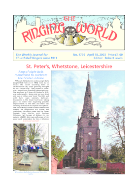 The Ringing World issue 4799