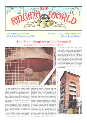 The Ringing World issue 4801