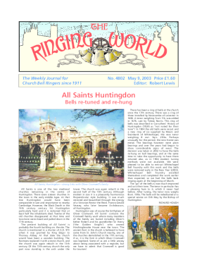 The Ringing World issue 4802