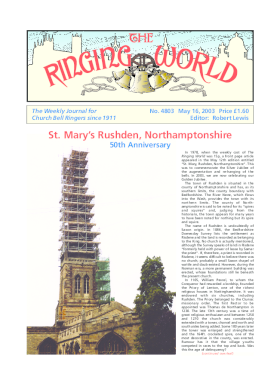 The Ringing World issue 4803