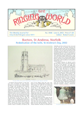 The Ringing World issue 4806