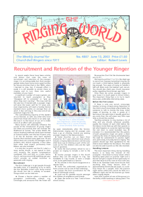 The Ringing World issue 4807