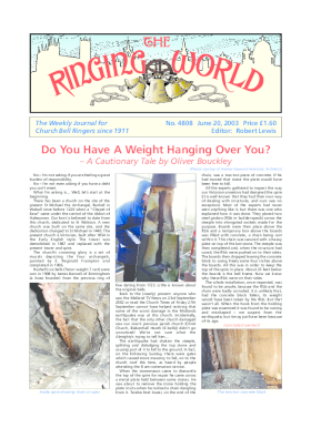 The Ringing World issue 4808