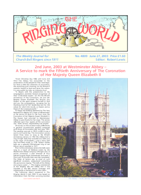 The Ringing World issue 4809