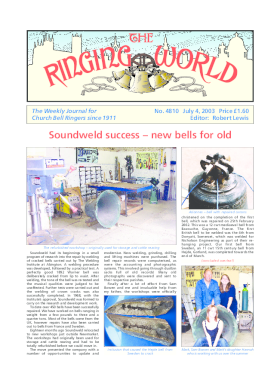 The Ringing World issue 4810
