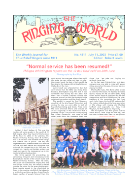 The Ringing World issue 4811