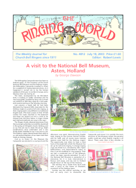 The Ringing World issue 4812