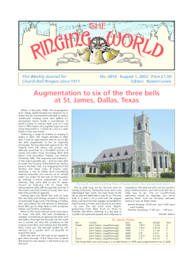 The Ringing World issue 4814