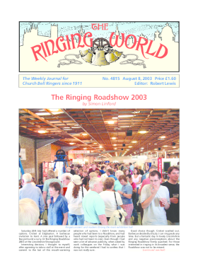 The Ringing World issue 4815