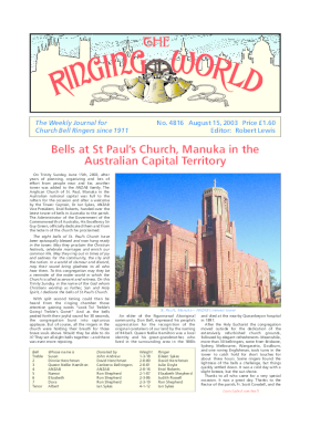 The Ringing World issue 4816