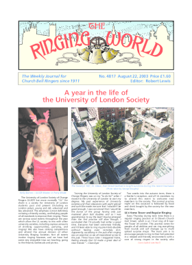 The Ringing World issue 4817