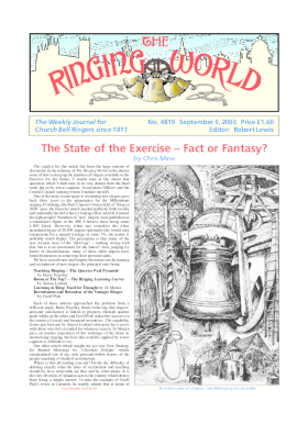 The Ringing World issue 4819