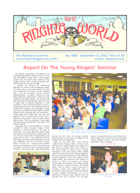 The Ringing World issue 4820
