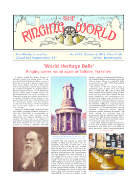 The Ringing World issue 4823