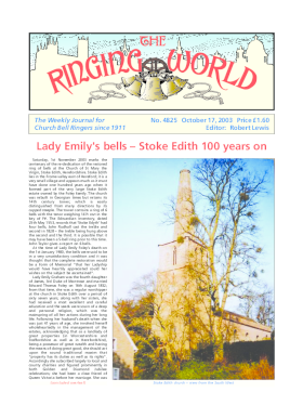 The Ringing World issue 4825