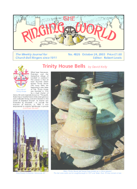 The Ringing World issue 4826