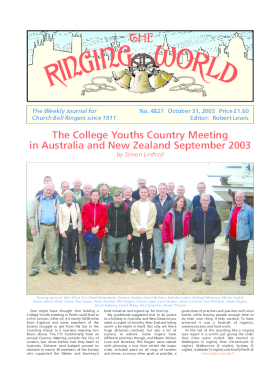 The Ringing World issue 4827