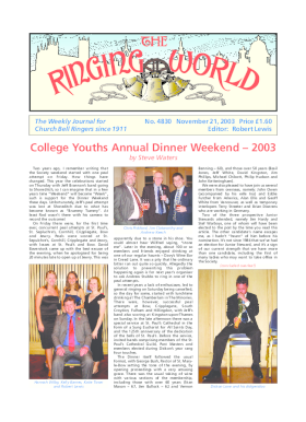 The Ringing World issue 4830