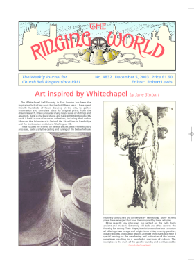 The Ringing World issue 4832