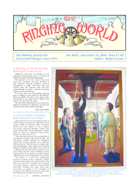 The Ringing World issue 4833