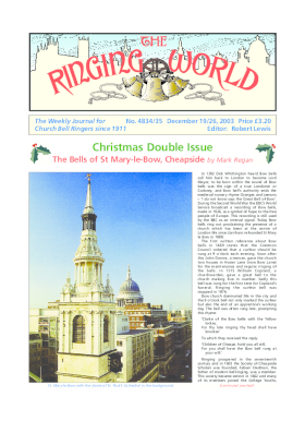 The Ringing World issue 4834