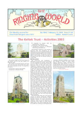 The Ringing World issue 4842