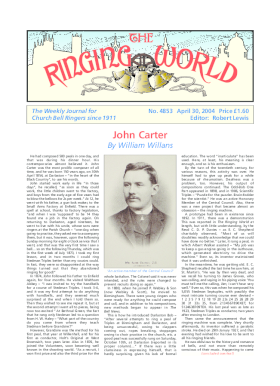 The Ringing World issue 4853