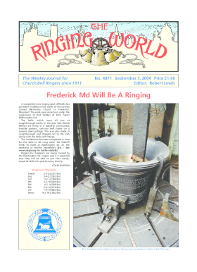 The Ringing World issue 4871