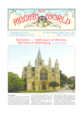 The Ringing World issue 4876