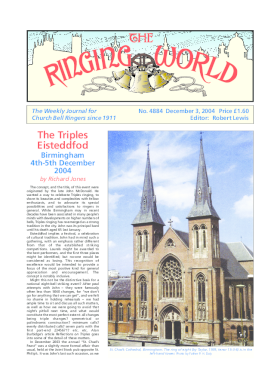 The Ringing World issue 4884