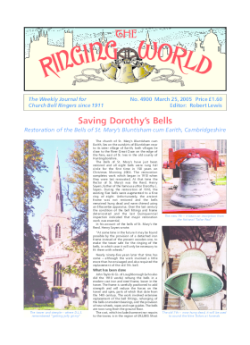The Ringing World issue 4900