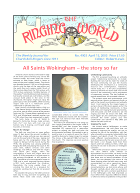The Ringing World issue 4903