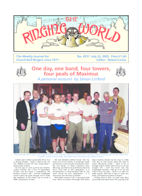 The Ringing World issue 4917