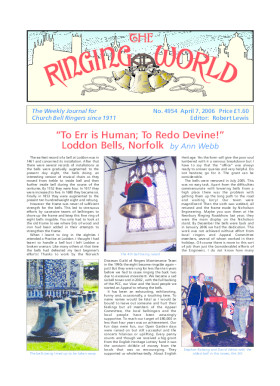 The Ringing World issue 4954